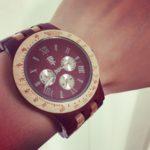 木製腕時計を一目惚れして、即購入!